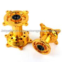CNC Anodizing Dirt Bike Parts , Motorcycle Front / Rear Wheel Hub Manufactures
