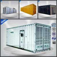 With Cummins KTA50-G3 ISO Standard 40FT Containerized 1000kw diesel generator 1250kva container generator Manufactures