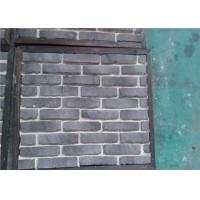 OEM Solid SurfaceFaux Exterior Brick With Rustic Color Enviromentall Friendly Manufactures