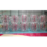 Colorful TPU Inflatable Bubble Ball , Inflatable Body Bumper Ball Soccer Manufactures