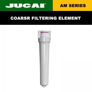 G 3/4 Industrial Air Compressor Filter 0.7 M3/Min Flow Rate Coarse Air Compressor Filter Manufactures