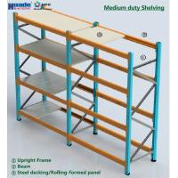 Medium Duty Shelving Racking Long Span Custom Height FEM RMI Certification Manufactures