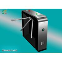 Three Rollers Tripod Turnstile Gate With Access Controller / Opening Gate Manufactures
