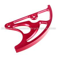 CRF450R CRF250X Dirt Bike Parts Rear Disc Guard CNC Billet Aluminum Alloy 6061 Manufactures