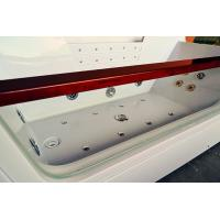 Quality Computerized 70 Inche Mini Indoor Hot Tub Single Person Hot Tub With 12 Massage Air Jets for sale