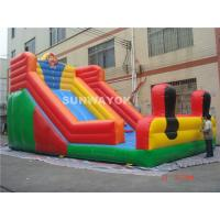 Durable Adult Commercial Inflatable Slide , Inflatable Water Slides Manufactures