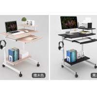 Double deck single person computer table simple modern for small apartment Manufactures