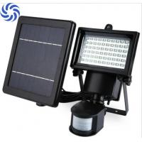 Waterproof Solar Flood Lights / 60 LED Solar Security Light With Motion Sensor Manufactures
