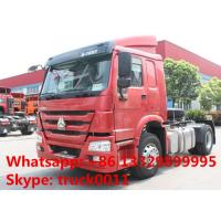 hot sale SINOTRUK HOWO 4X2 290HP Tractor Truck, HOWO 290hp tractor head truck for trailer Manufactures