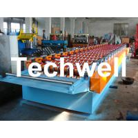 5.5 Kw Automatical Aluminium Corrugated Sheet Roll Forming Machine For Corrugated Sheets
