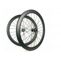 Hand - Built Carbon Racing Bike Wheels 50MM Road Disc 700C Racing Cycling Manufactures
