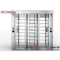 Double Passage Controlled Access Turnstile Rapid Identification For Stadium With CE Approved Manufactures