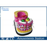 Quality Convenient Operation Kids Bumper Cars For Toddlers Cute Design 34KG for sale