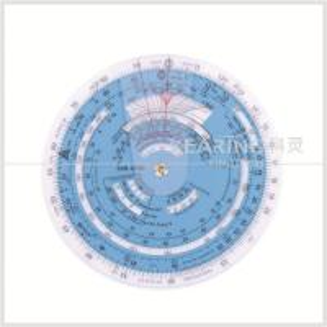 Plastic Aviation Circular Flight Computer Navigation Calculator Wheel Chart Manufactures