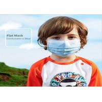 Three Layer GB/T32610 Safe Face Masks For Kids Manufactures