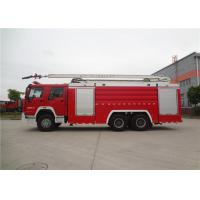 Quality Inter Cooling Engine Fire Rescue Vehicles With TBD035181 Long Row Alarm Lamp for sale
