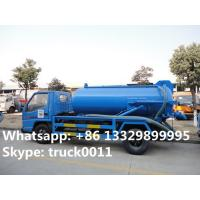 JMC high quality and competitive price 3 cubic meters sewage suction truck for sale, China best price 3m3 vacuum truck Manufactures