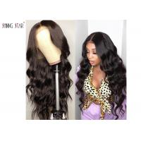 Human Hair Lace Front Wigs Pre Plucked Body Wave 13X4 Lace Frontal Wig Brazilian Human Hair Manufactures