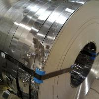 201 / 304 / 316L / 202 Stainless Steel Slit Coil Rolled ASTM A537 , ASTM A302 Standard Coil and Slit Strips Manufactures