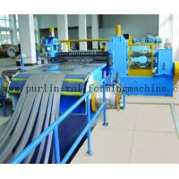 Automatic Control Metal Slitting Machine Durable Carbon Steel / Galvanized Coils Manufactures