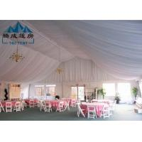 All Seasons Outdoor Canopy Tent With Sides , Commercial Event Tents Hot - Dipped Galvanized Steel Manufactures