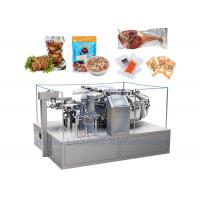 Rotary Food Vacuum Packing Equipment High Performance With Nitrogen Gas Manufactures