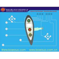LED Embedded Black Membrane Touch Switch For Electric Weighing Manufactures