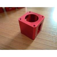 High-precision Red Color Anodized CNC Machining Aluminum Industrial Parts Manufactures