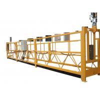 China Adjustable Temporary Suspended Work Platform For Elevator Installing / Ship Repairing on sale