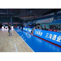 Background Thin LED Displays Full Color SMD P8 Indoor Anti Collision Manufactures