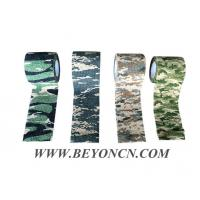Camo Cohesive Bandage Non Woven Fabric Camping Wrap Adhesive to it self Manufactures