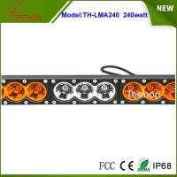 """Quality Stainless bracket 43.2"""" LED lighting bar Cree 240w truck roof off road tractor for sale"""