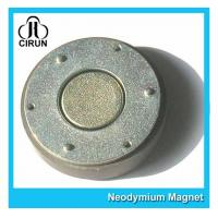 Small Thin Custom Neodymium Magnets , Strong Round Flat Ndfeb Magnet Manufactures