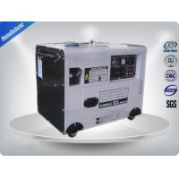 Quality Portable Gasoline Generator Set Slient Frame 5 kva Economic 950*560*750 for sale