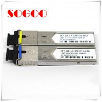 10G/1310nm SM Optical Module 1.4km SFP Optical Transceiver For Huawei ZTE Manufactures