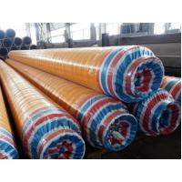DN15 - DN2000 Insulated Steel Pipe Yellow Jacket High Density Polyurethane Insulated Pipeline For Oil / Gas / Air Manufactures