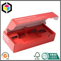 Electronics Paper Box with Cardboard Inserts; Matte Color Packaging Box Manufactures