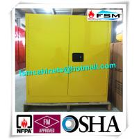 30 GAL Fireproof Hazardous Storage Cabinets For Flammable And Combustible Liquids Manufactures