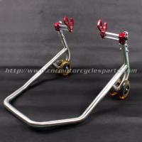 Aluminum Motorcycle Spare Parts Universal Adjustable Paddock Stands For Street Bike Manufactures
