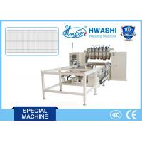 6-15 Guns Multi Head Wire Welding Machinery For Wire Mesh Of Shopping Trolley / Carts Manufactures