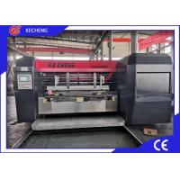 Slotting Die Cutting Automatic Control 1mm Carton Printer Machine Manufactures