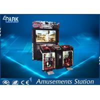 Dynamic Crazy Razing Fire Shooting Arcade Machines With 42 - Inch LCD Monitor Manufactures