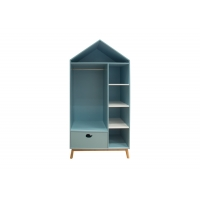 MDF BSCI Storage Armoire With Shelves And Drawers Manufactures