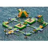 New Design Giant Beach Inflatable Water Parks Lake Floating Water Games Manufactures