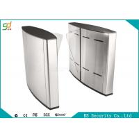 Electric Indoor Wing Flap Barrier Gate Turnstile Subway Or Metro Access Manufactures