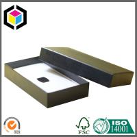 Recyclable Black Chipboard Paper Gift Box for Jewelry Packaging; Jewelry Paper Box Manufactures