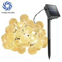 Quality Warm White Solar LED String Lights / Lamps Energy Saving For Christmas Party for sale
