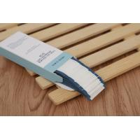 Buy cheap Face Deep Blue Wrap 0.16mm Permanent Makeup Needles Individual Sterile Packed from wholesalers