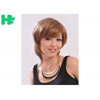 Quality Comfortable Synthetic Hair Wigs With Comb Easily , Cuticle Aligned Correct for sale