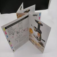 Rectangle / Square Printing Press Brochure Paperboard For User Guide Manufactures